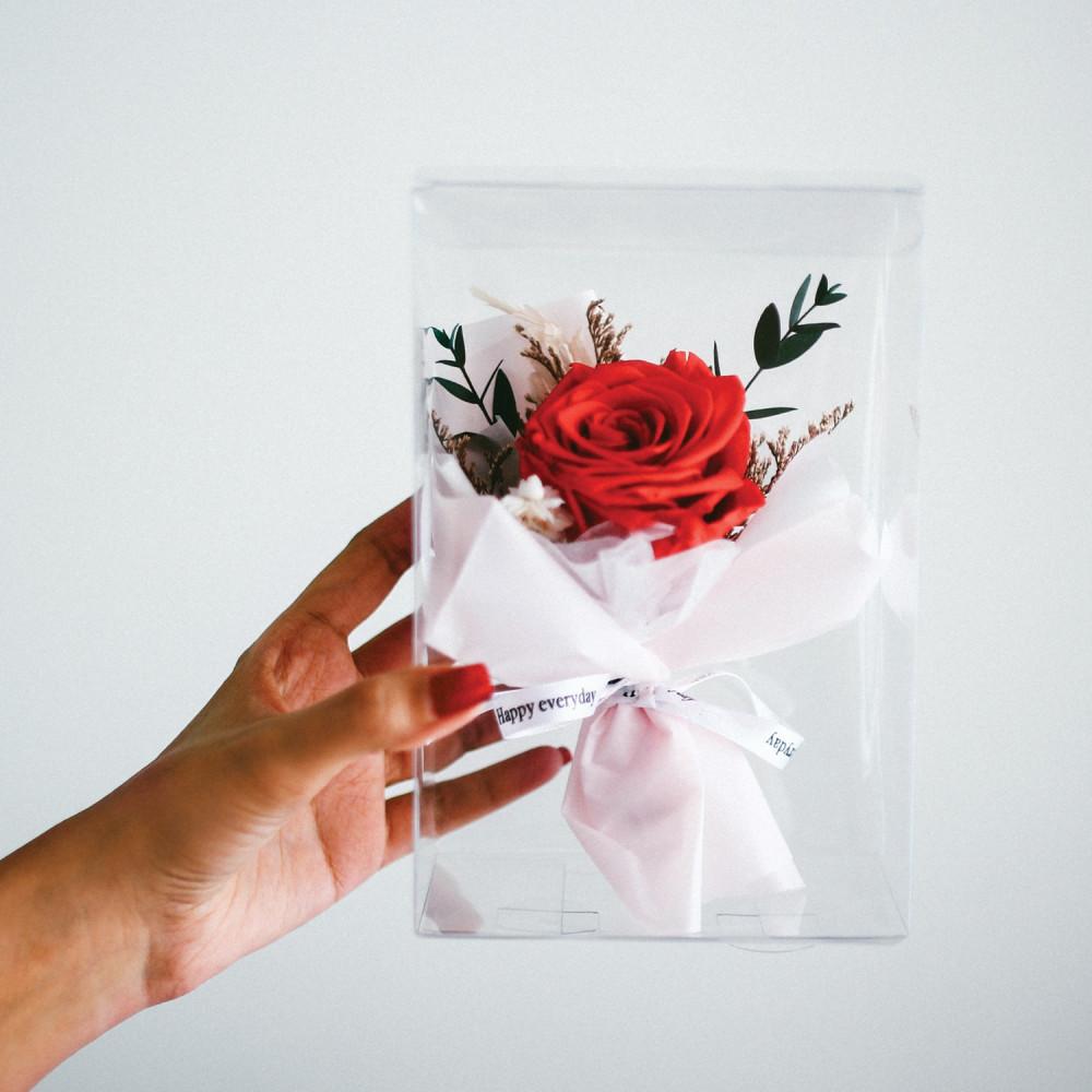 باقة ورود طبيعي Preserved Flower أفكار هدايا خطوبة عيد ميلاد تخرج زواج
