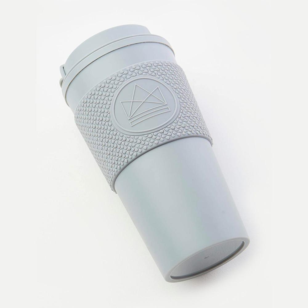 أفضل كوب قهوة حافظ للحرارة  للدوام لون رمادي  أدوات القهوة المختصة