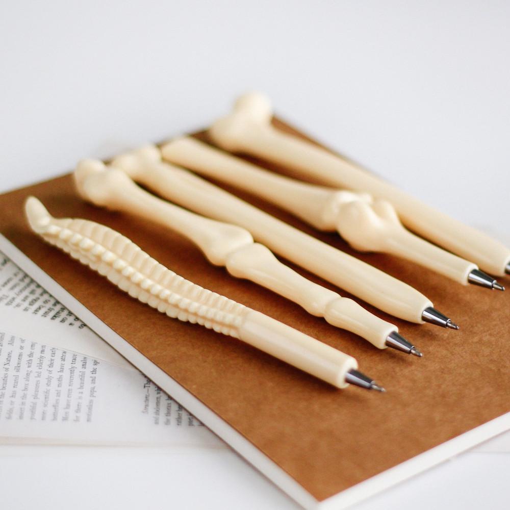 قلم هيكل عظمي أفكار هدية تخرج طبيب طبيبة أقلام عظام الجسم عظم متجر