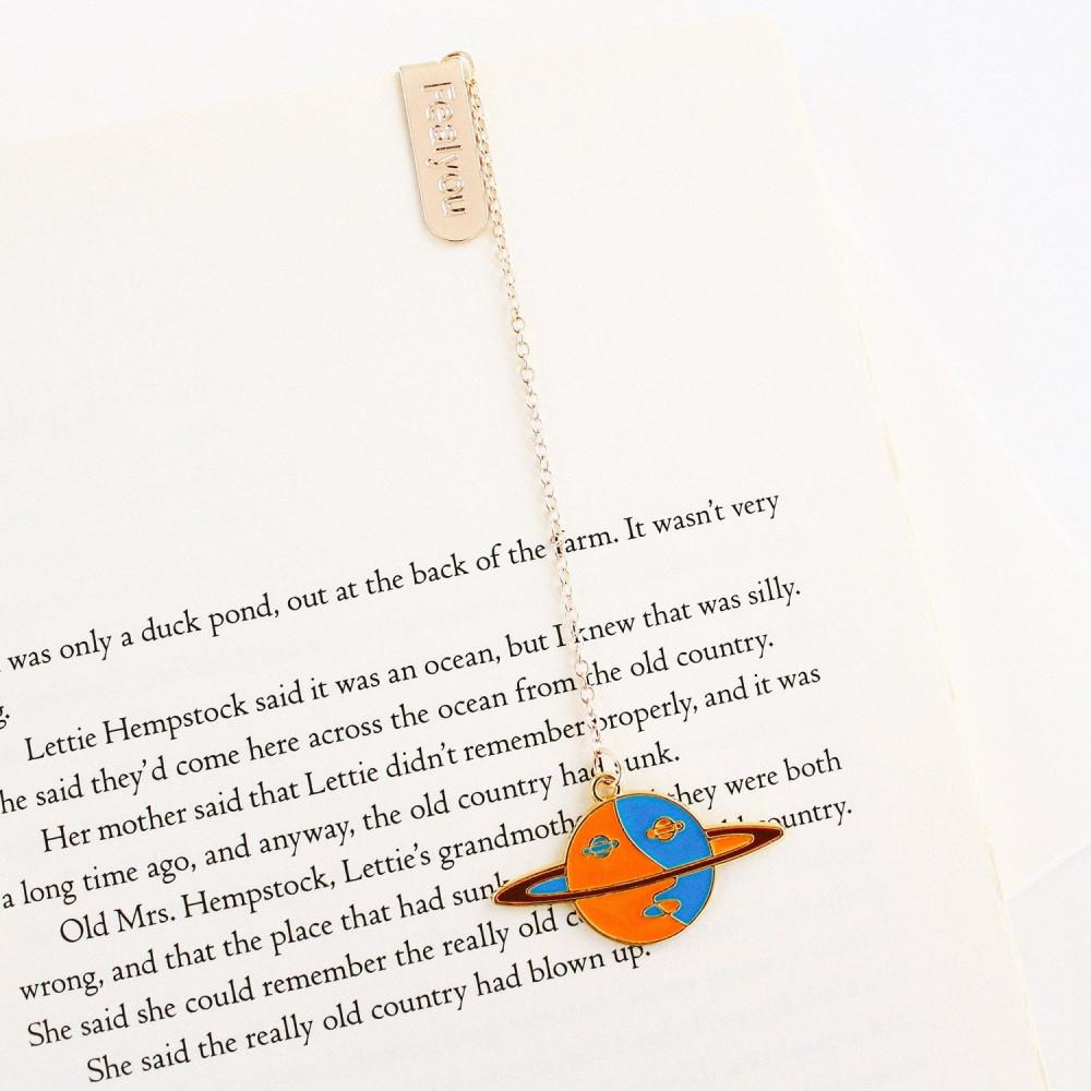 فاصل كتاب كوكب زحل نادي القراءة فواصل كتاب أفكار هدايا لعشاق القراءة