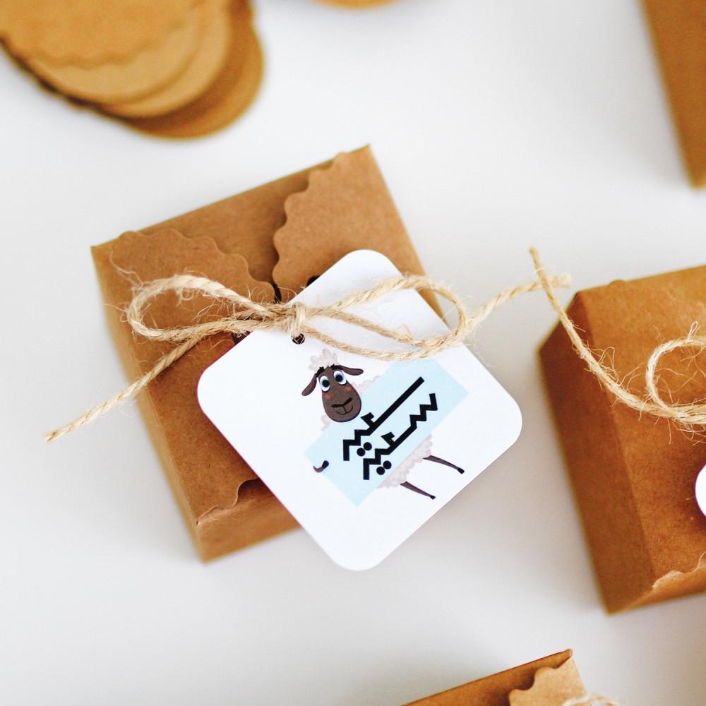 توزيعات عيد الأضحى تاق عيديات للأطفال ثيمات خروف العيد أفكار ديكور