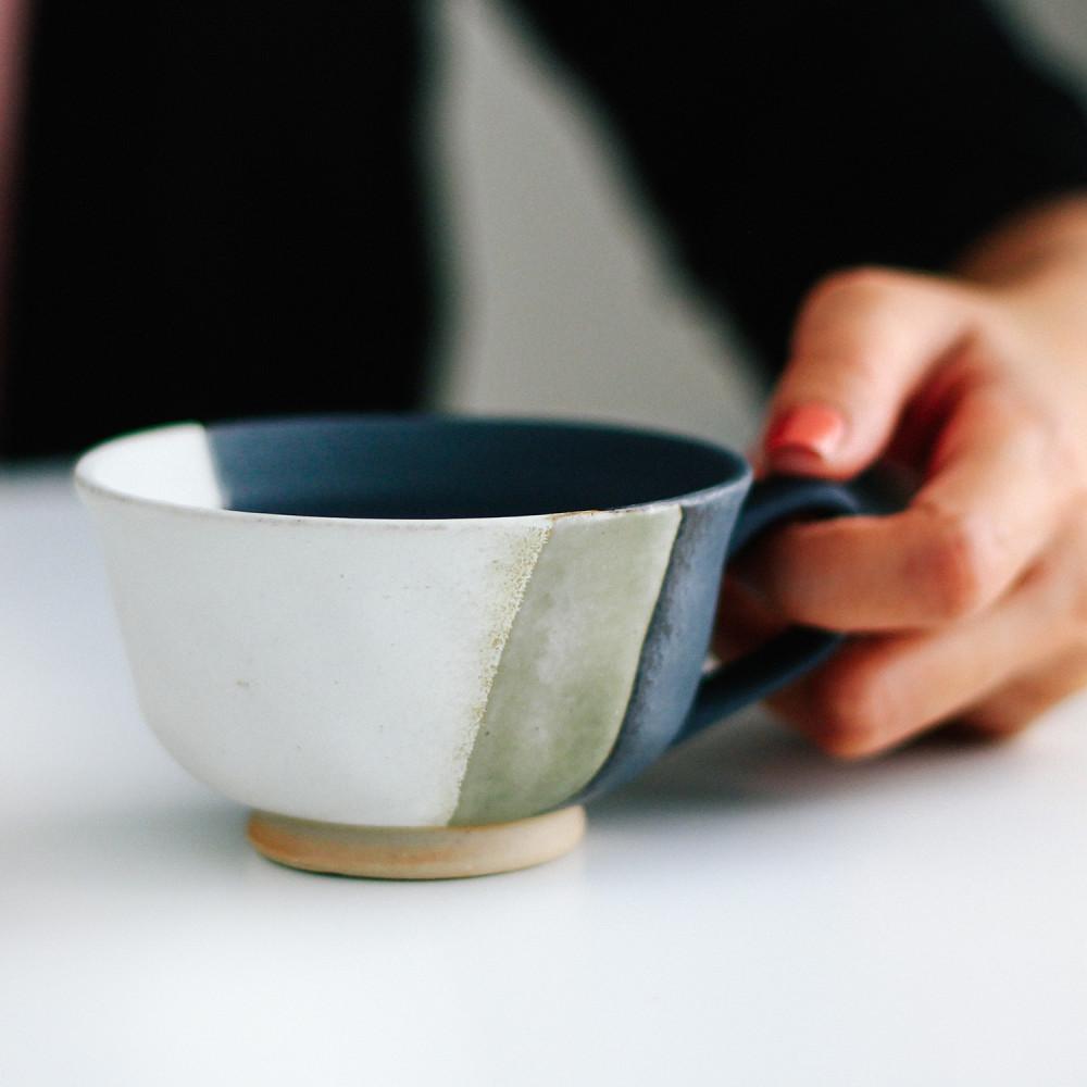 كوب اسبريسو كورتادو فلات وايت موقع اكواب متجر أدوات القهوة كوب ياباني