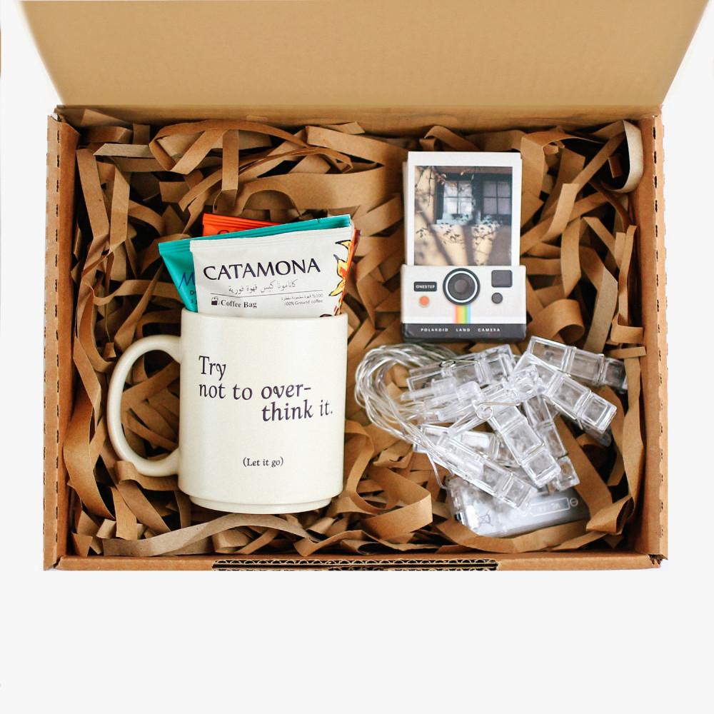 هدية مميزة كوب قهوة متجر هدايا أفكار هدايا نسائية رجالية إضاءة مشابك