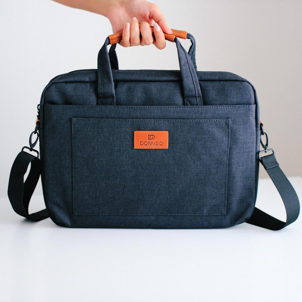 حقيبة لابتوب رجالية نسائية حقائب كمبيوتر اكسسوارات لابتوب رمادي متجر