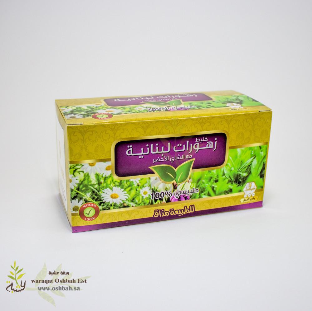 زهورات لبنانية