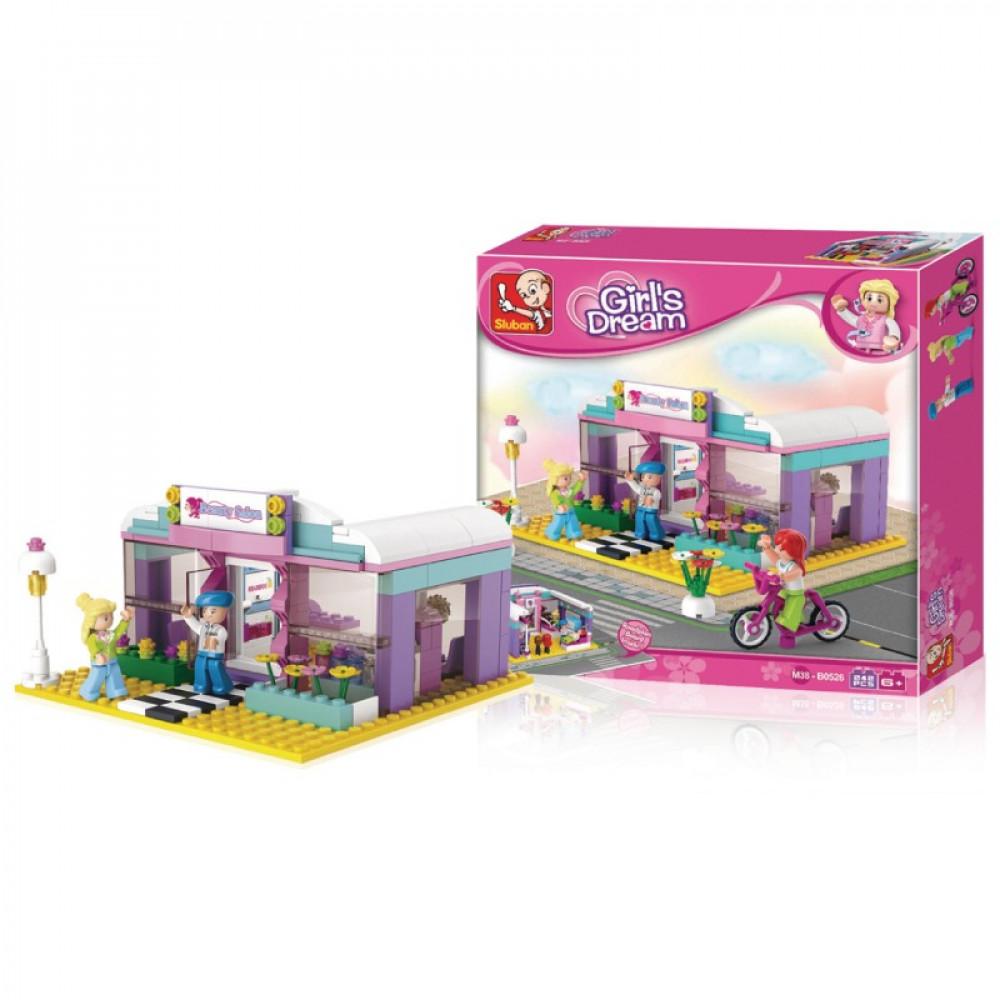 سلوبان, قطع تركيب بناتي صالون تجميل, ألعاب, Toy Beauty Salon, Sluban
