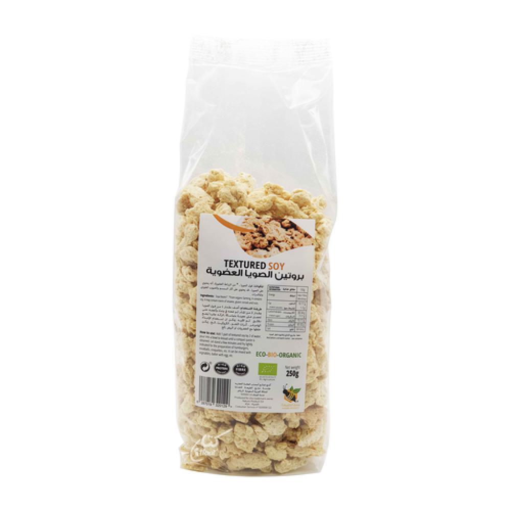 بروتين الصويا العضوي 250 جرام