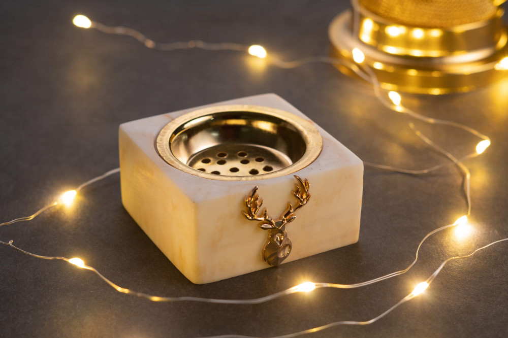 مبخرة ميني ماربل رخام صغيرة توزيعات مبخرة