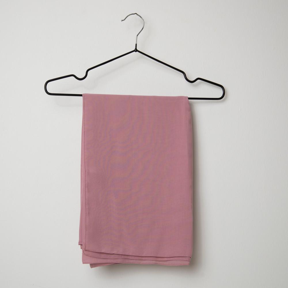 طرحه قماش فتنامي حرير ساده لون وردي