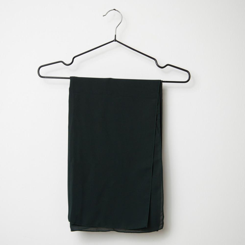 طرحه قماش فتنامي حرير ساده لون أخضر غامق