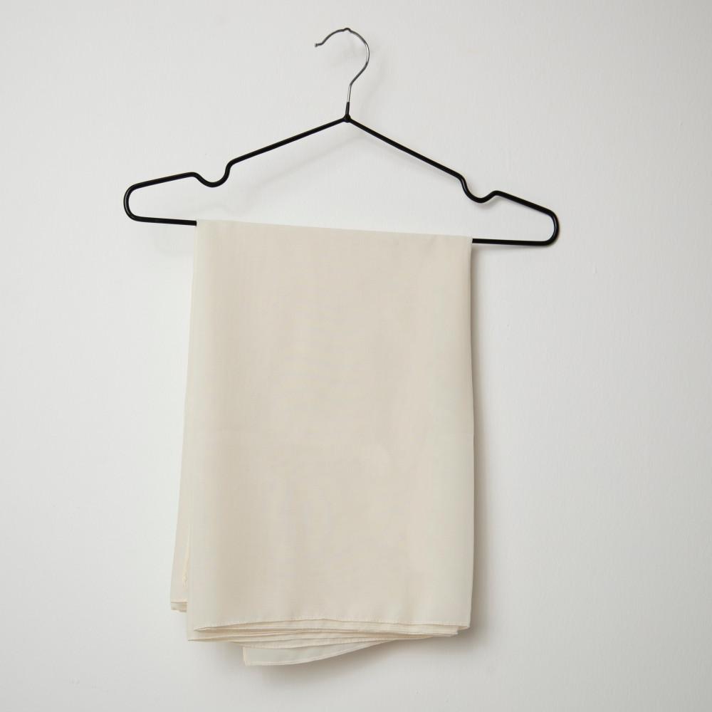 طرحه قماش فتنامي حرير ساده لون سكري