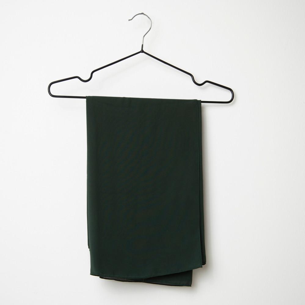 طرحه قماش فتنامي حرير ساده لون أخضر