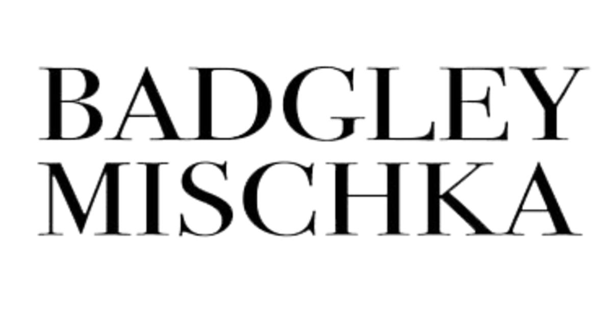 Badgley Mischka - بادجلي ميشكا