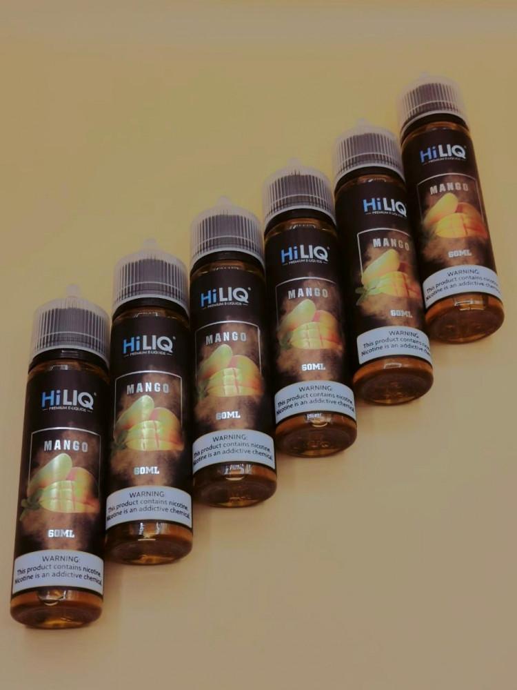 نكهة فيب هاي لك المانجو الذيذه 60 مل 3 نيكوتين Hiliq Mango