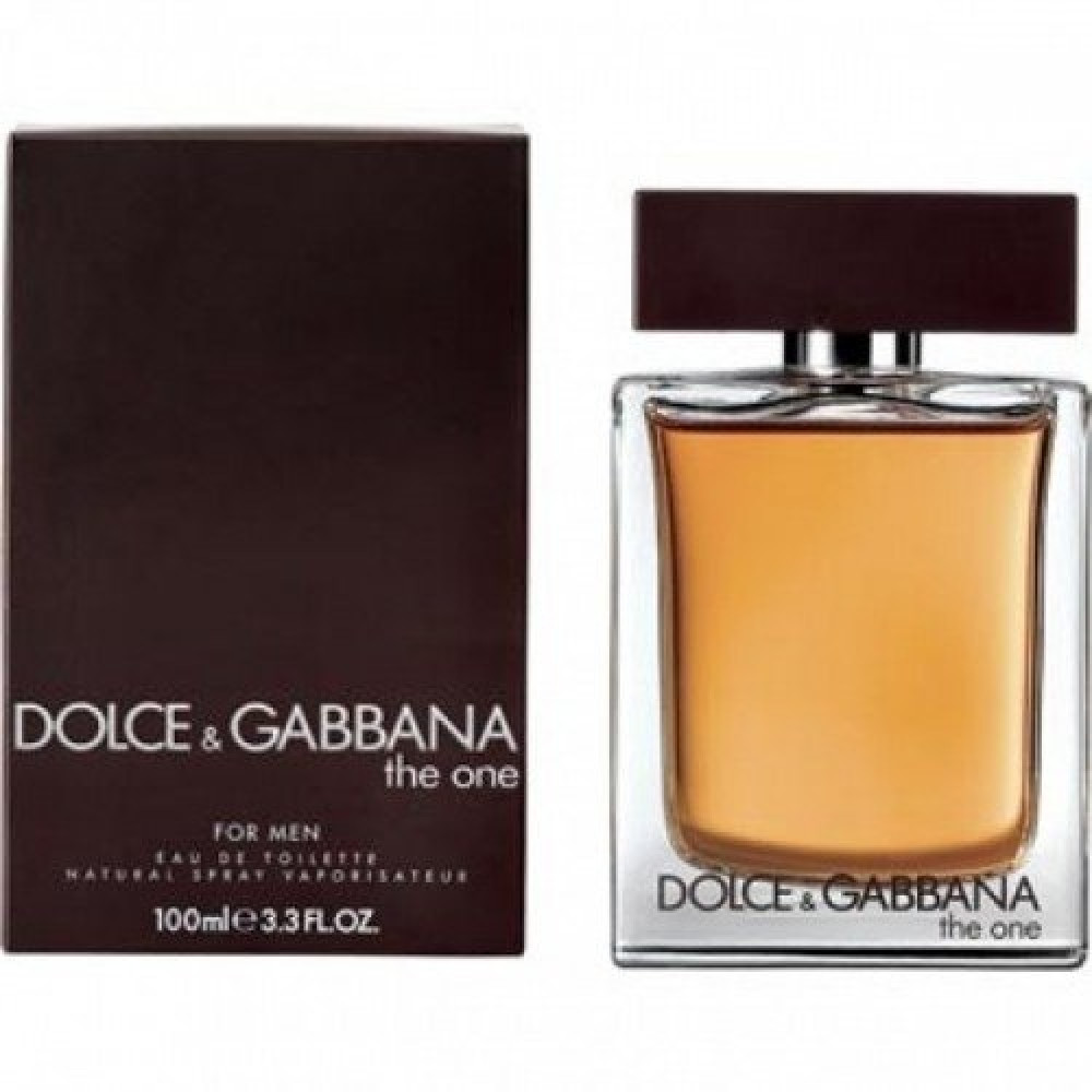 Dolce Gabbana The One for Men Eau de Toilette 100ml خبير العطور