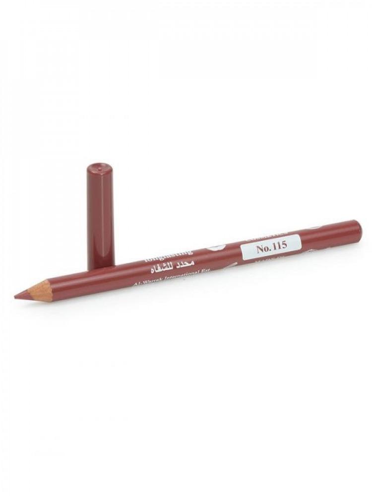 قلم تحديد شفايف طويل الامد من جيسيكا 115 نود