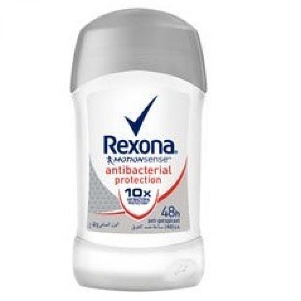 ريكسونا ستيك مزيل رائحة العرق  10 مضاد للبكتيريا  40 مل    Rexona Stic