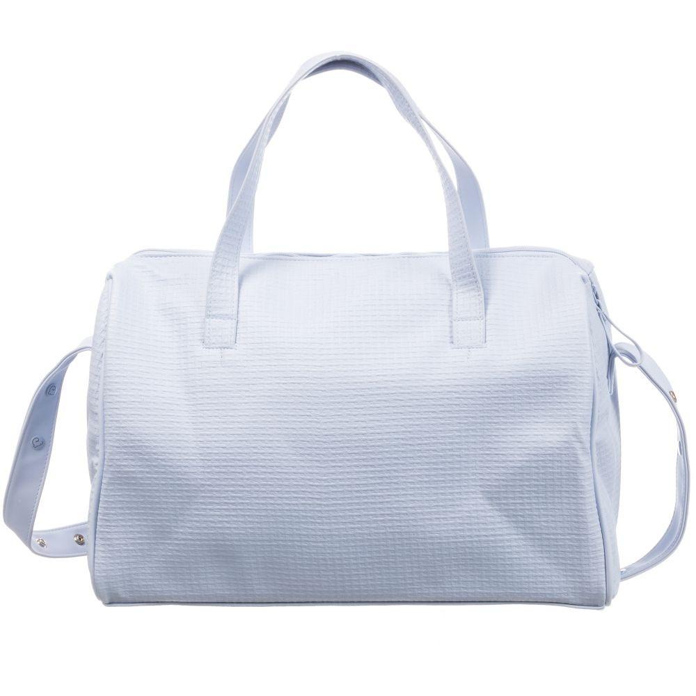 حقيبة يد باللون السماوي  من ماركة Pasito A Pasito من دوها