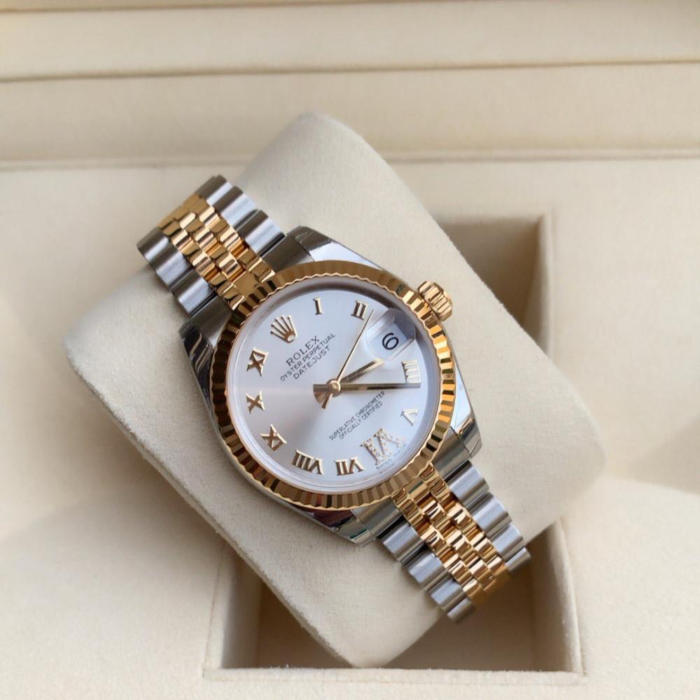 ساعة رولكس ديت جست الأصلية الثمينة جديدة كليا 278273