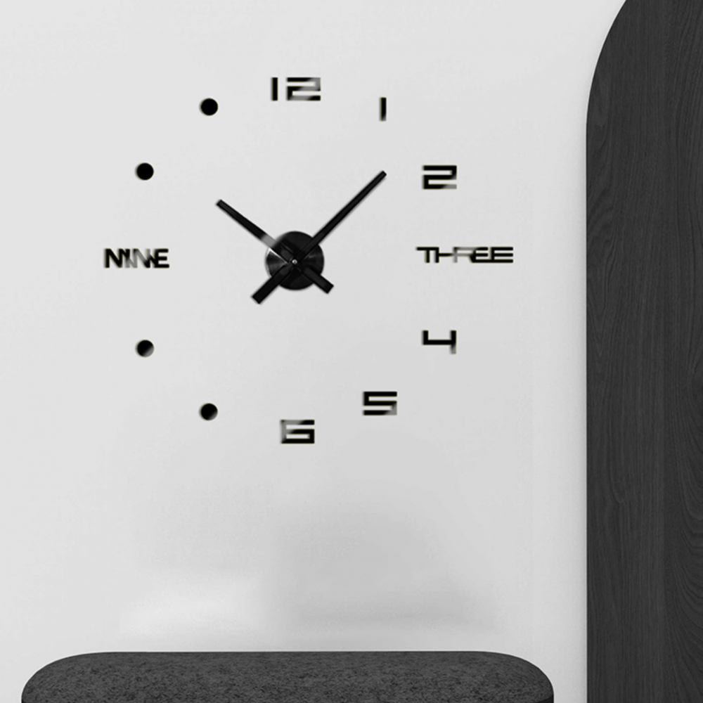ساعة حائط 3d