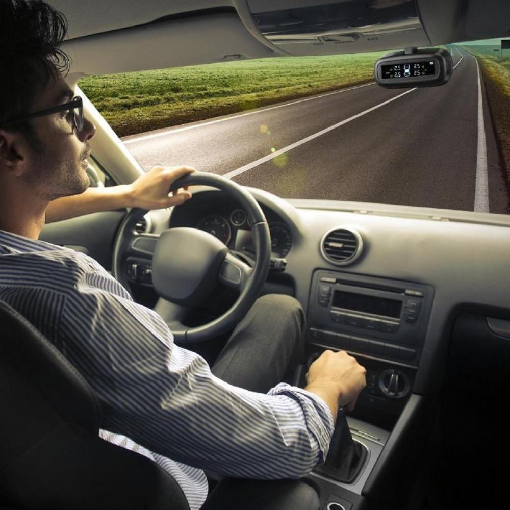 جهاز مراقبة ضغط هواء وحرارة إطارات السيارات