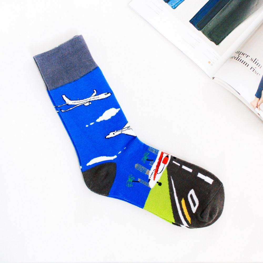 جوارب طويلة شرابات نسائية جوارب رجالية طائرة مطار شراريب دلاغات متجر