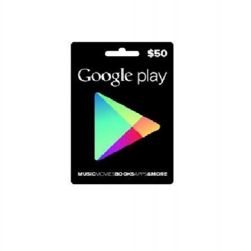 جوجل بلاي امريكي 50 دولار