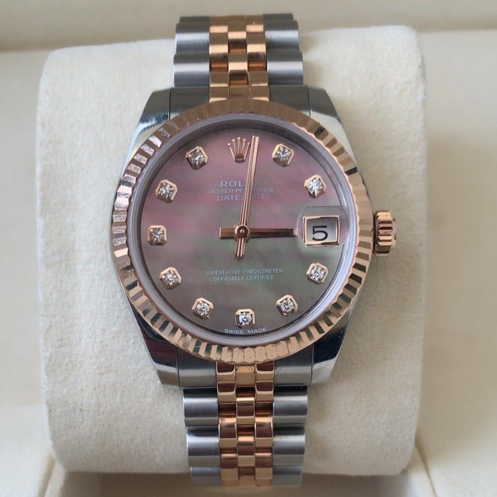 ساعة رولكس ديت جست الأصلية الثمينة مستعملة 178271
