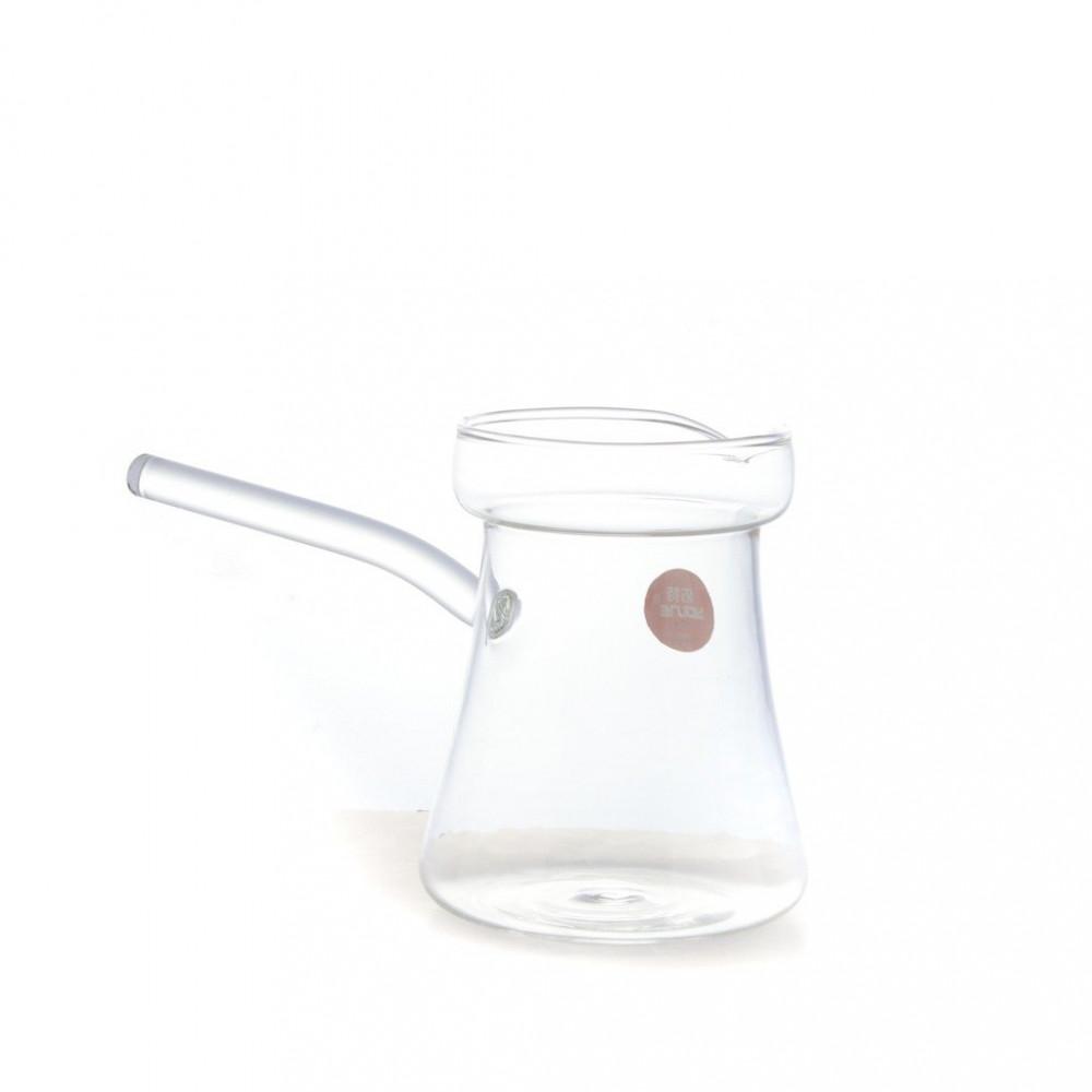 جزوة قهوة زجاج