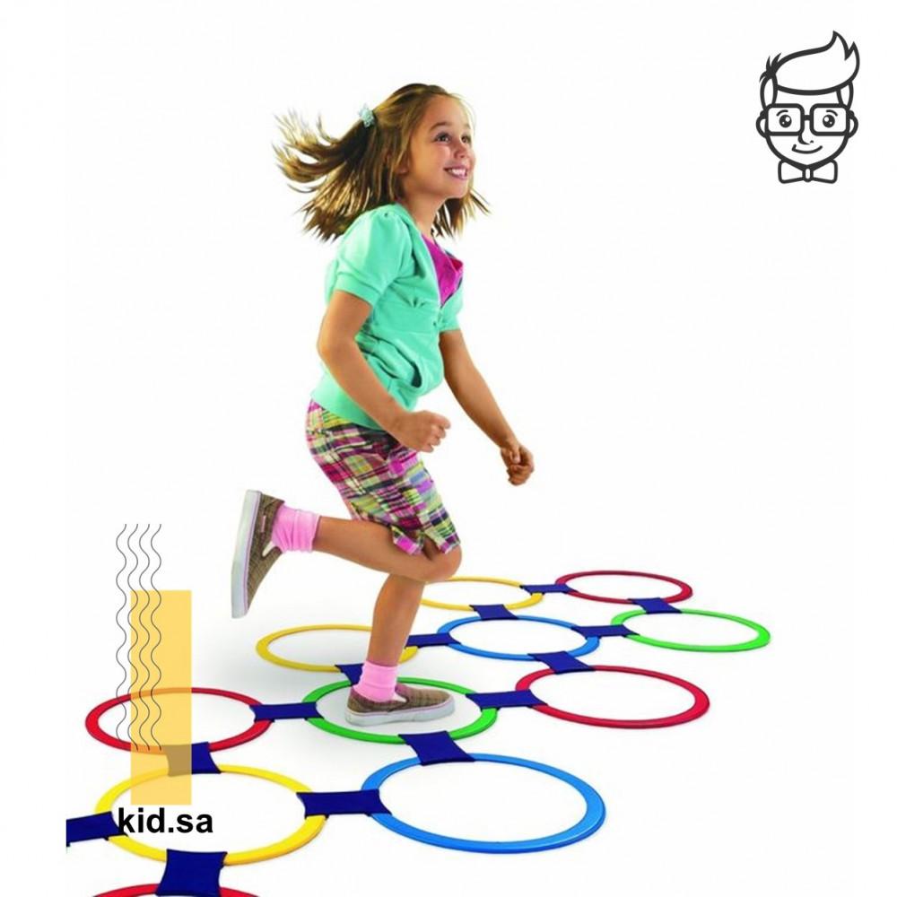 لعبة القفز للاطفال من الالعاب الجماعية