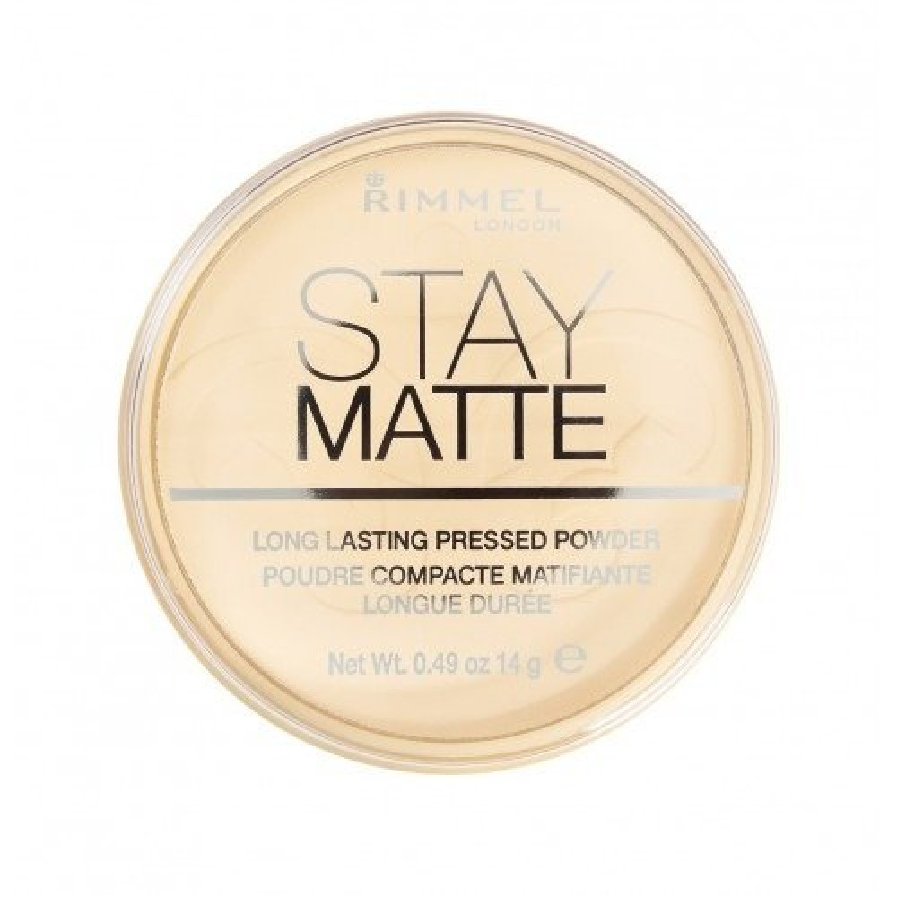 Rimmel Stay Matte Powder No 001 Transparent 14g متجر خبير العطور