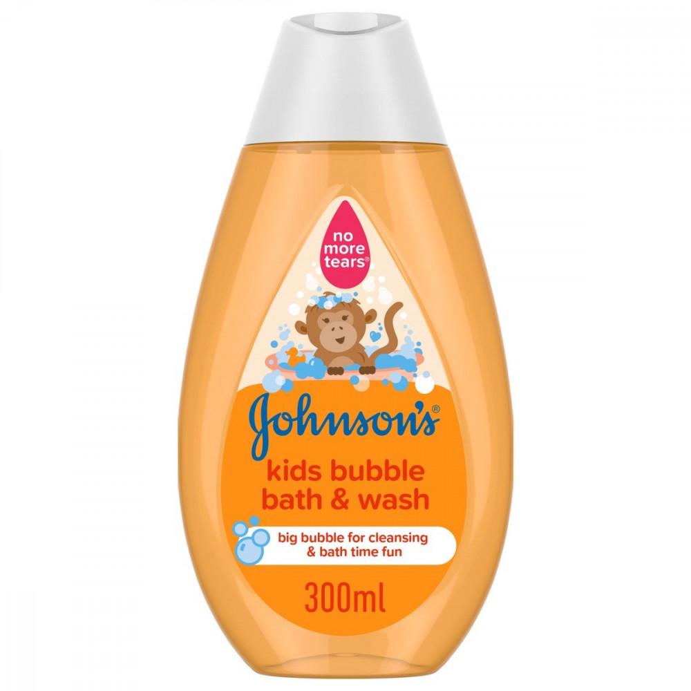 سائل استحمام وغسول فقاعات للأطفال جونسون