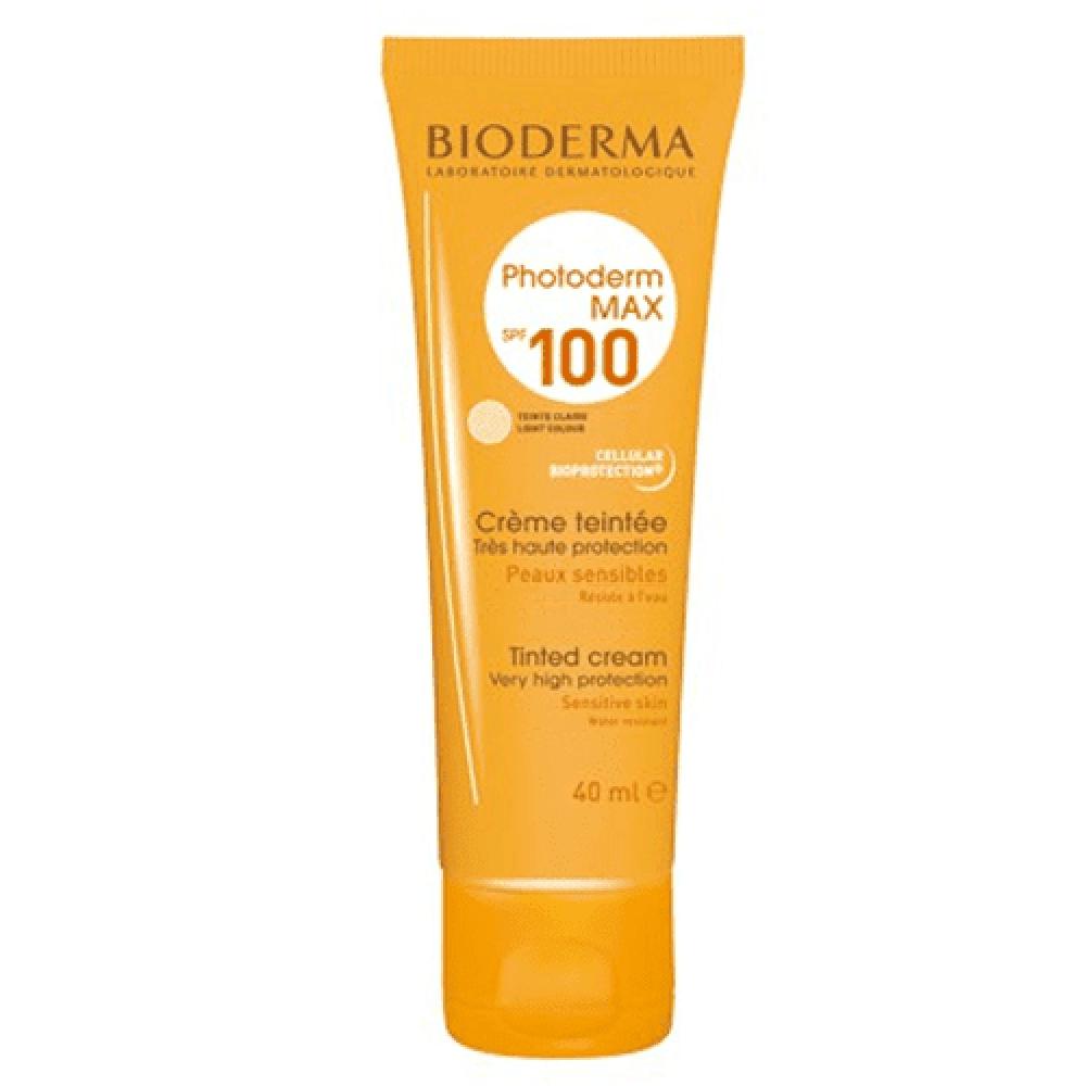 كريم بلون عالي الحماية من الشمس فوتوديرم ماكس 100 SPF من بايوديرما