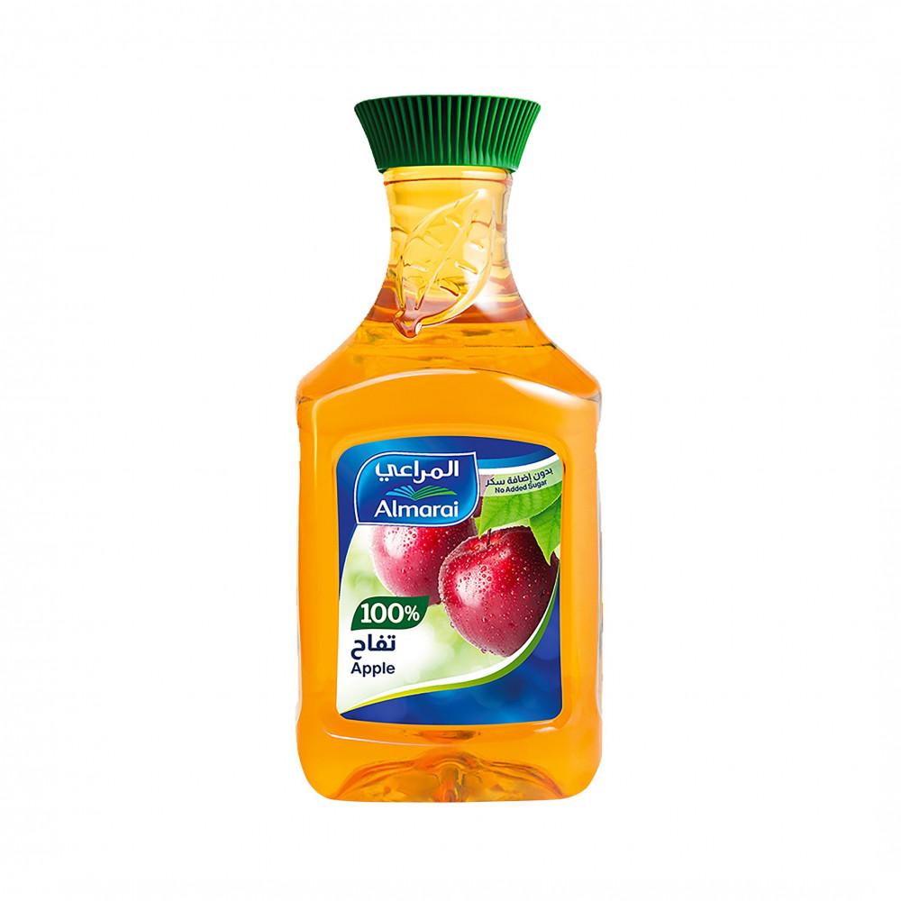 المراعي عصير تفاح بدون إضافة سكر 1 5لتر سوق مقاضي