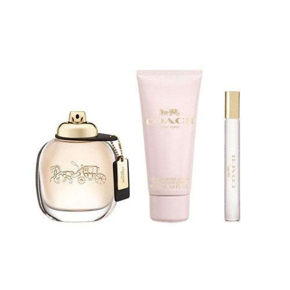 Coach NewYork for Women Eau de Parfum 90ml 3 Gift Settttt خبير العطور