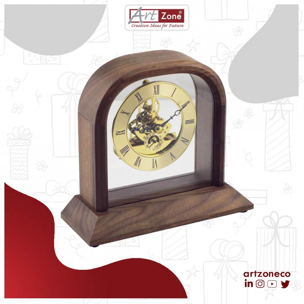 ساعة خشبية كلاسيكية فاخرة