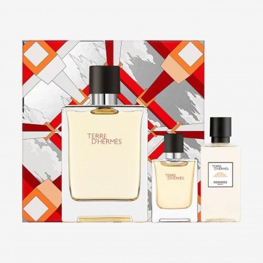 Hermes Terre d hermes Eau de Toilette 100ml 3 Gift Set متجر خبير العطو