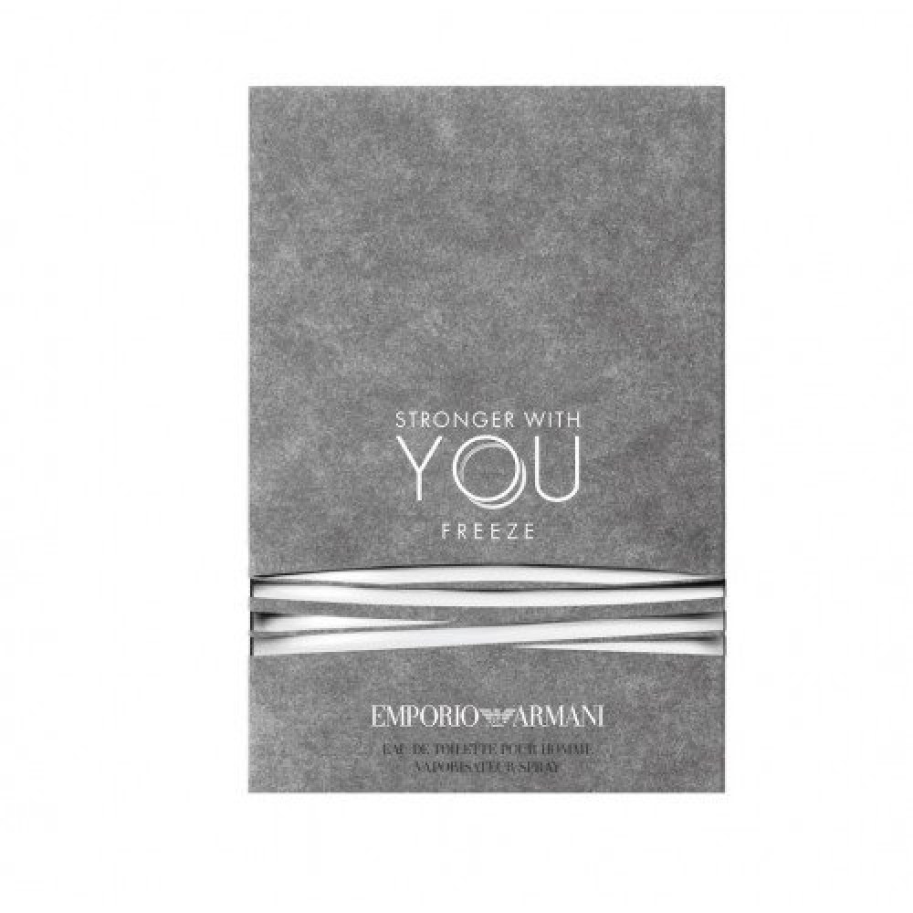 Emporio Armani Stronger With You Freeze for Men Eau de Toilette Sample