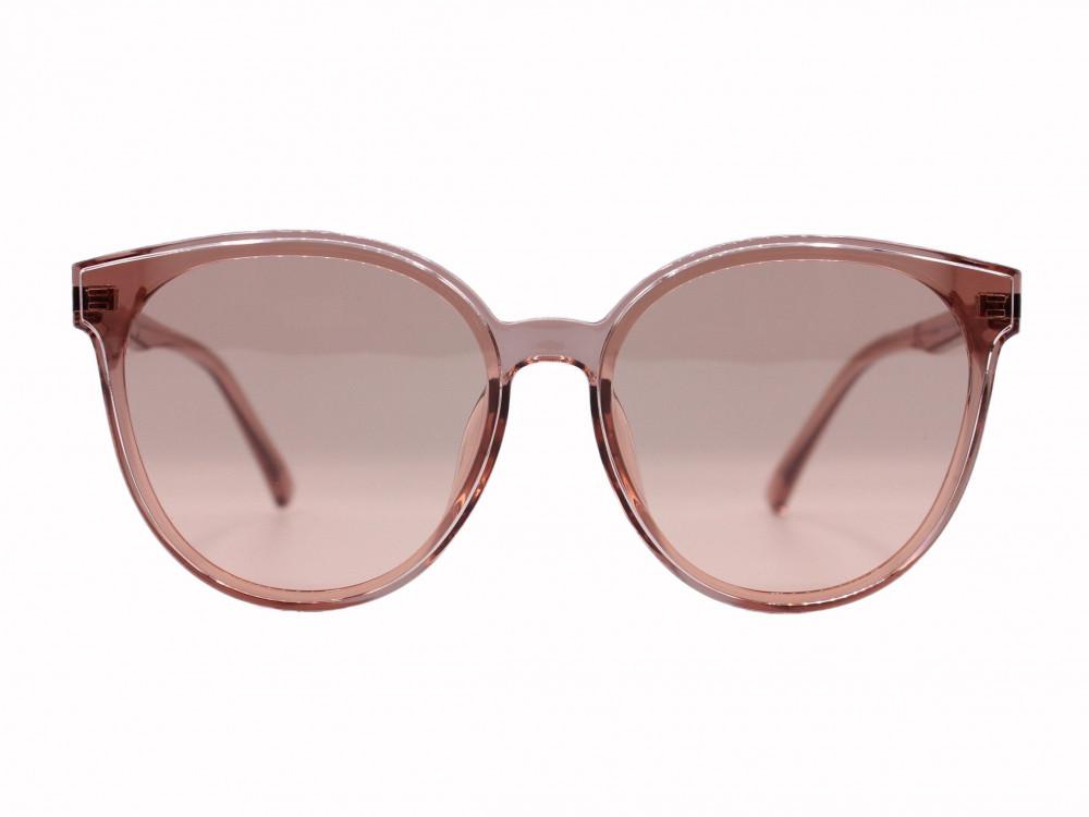 نظاره شمسية دائرية من ماركة PARIM لون العدسة وردي نسائية وزن النظارة ا