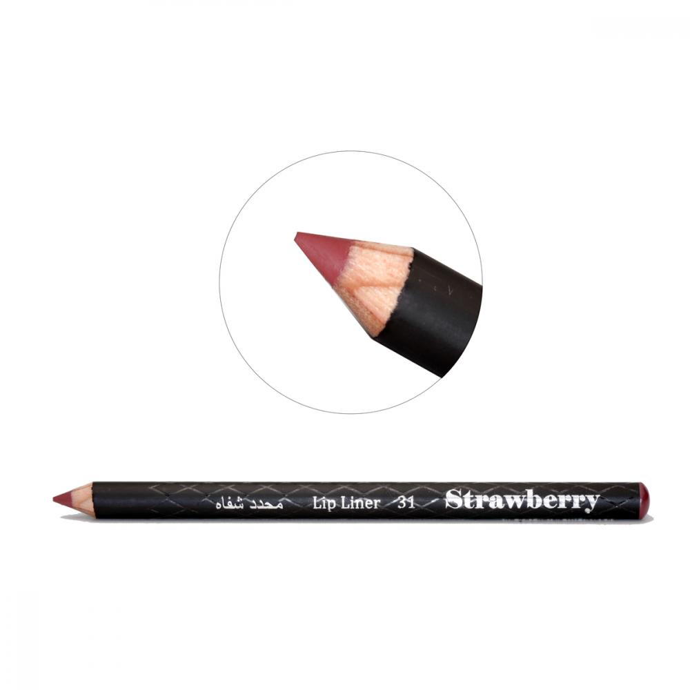 Strawberry  Lip Liner Pencil  No-31