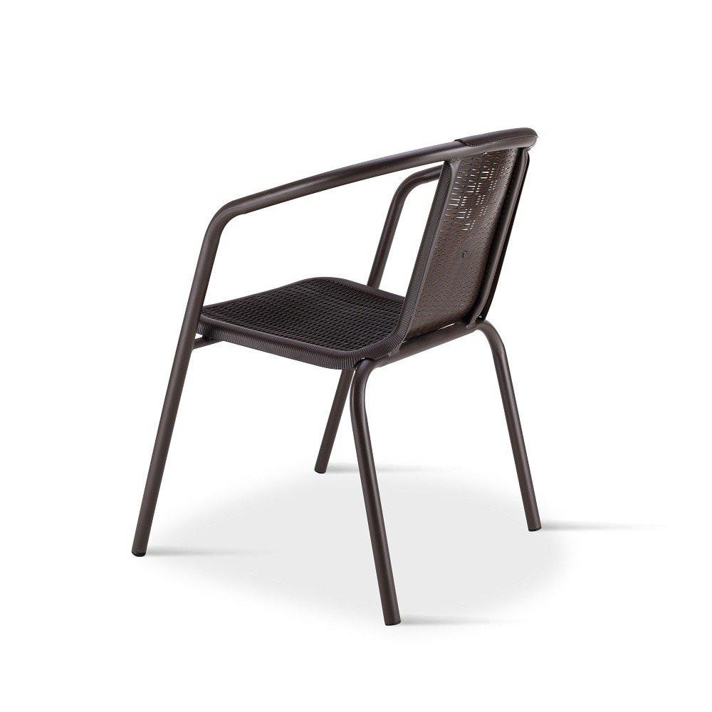 تميز بهذا الكرسي الجميل للبلكونة في طقم كراسي بني ماركة نيت هوم مواسم