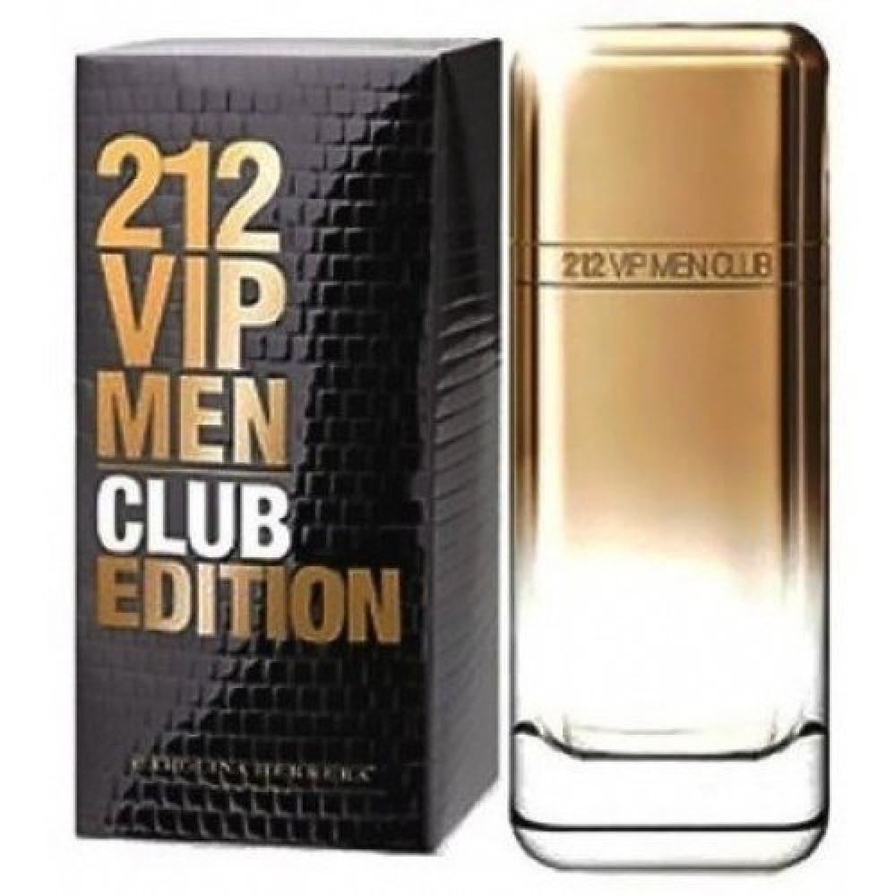 Carolina Herrera 212 VIP Men Club Edition Eau de Toilette 100ml خبير ا