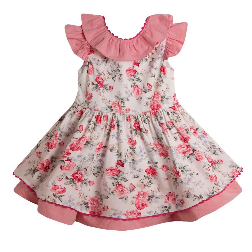 فستان- الزهور-اسباني