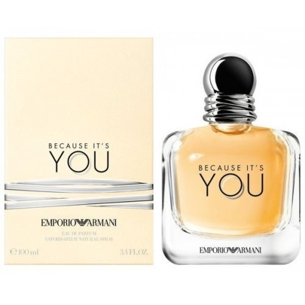 Emporio Armani Because Its You for Women Eau de Parfum 100ml خبير الع
