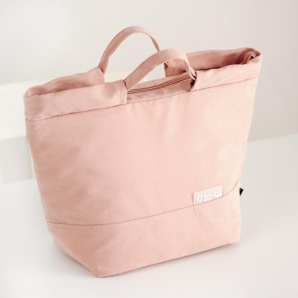 حقيبة لانش بوكس حقيبة صندوق غداء حقيبة غداء للدوام حقائب مخمل وردي
