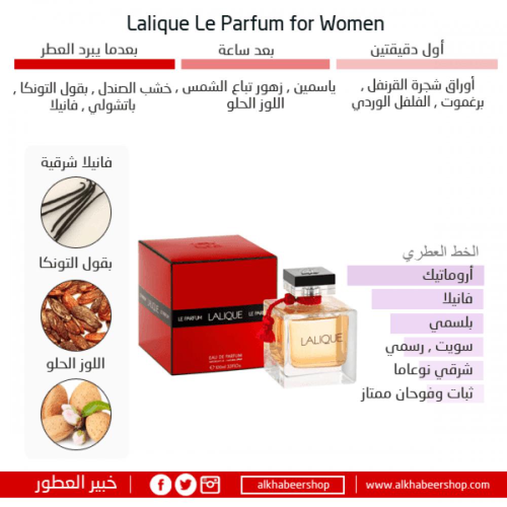 Lalique Le Parfum Eau de Parfum 50ml خبير العطور