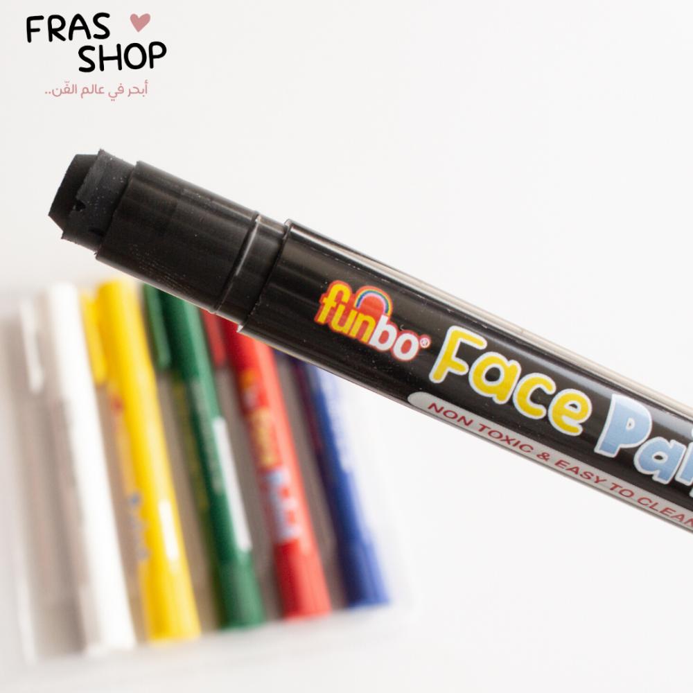 الوان وجه فنبو 12 قلم