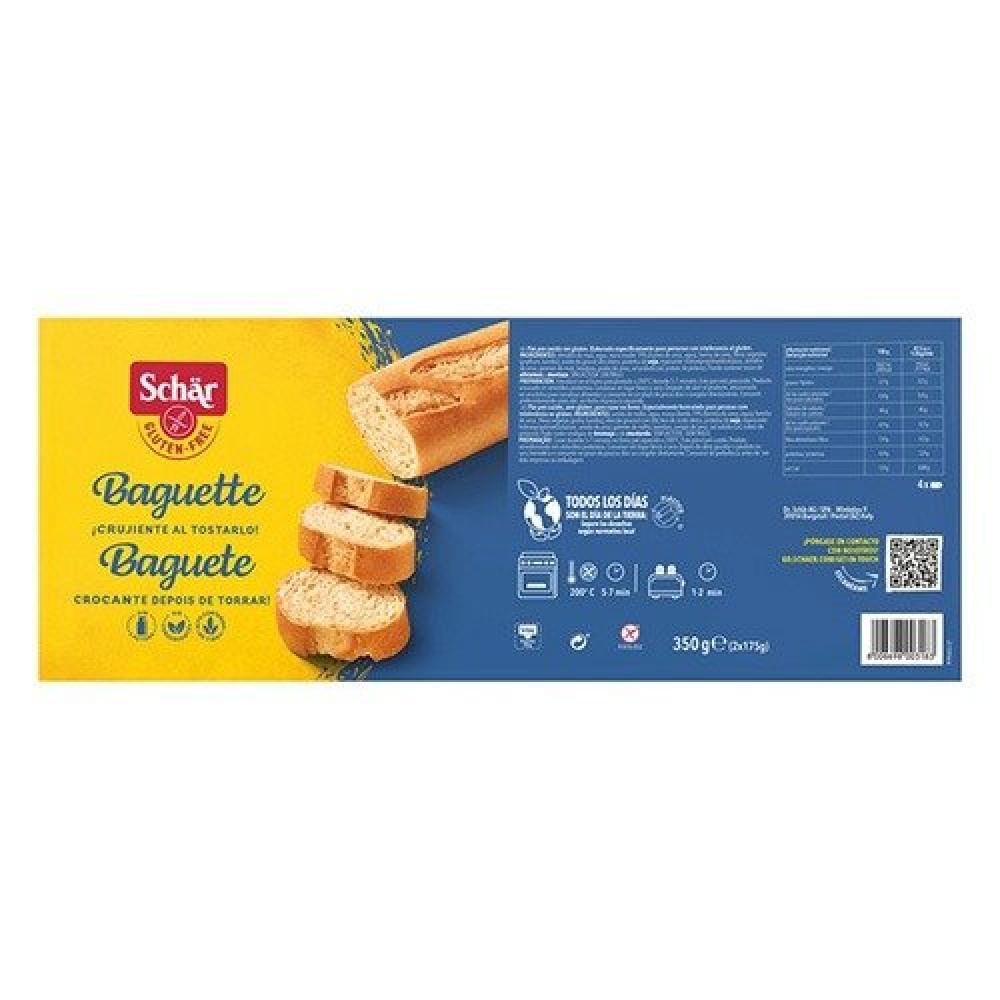 خبز فرنسي مخبوز جزئيا خالي من الجلوتين 175 جرام