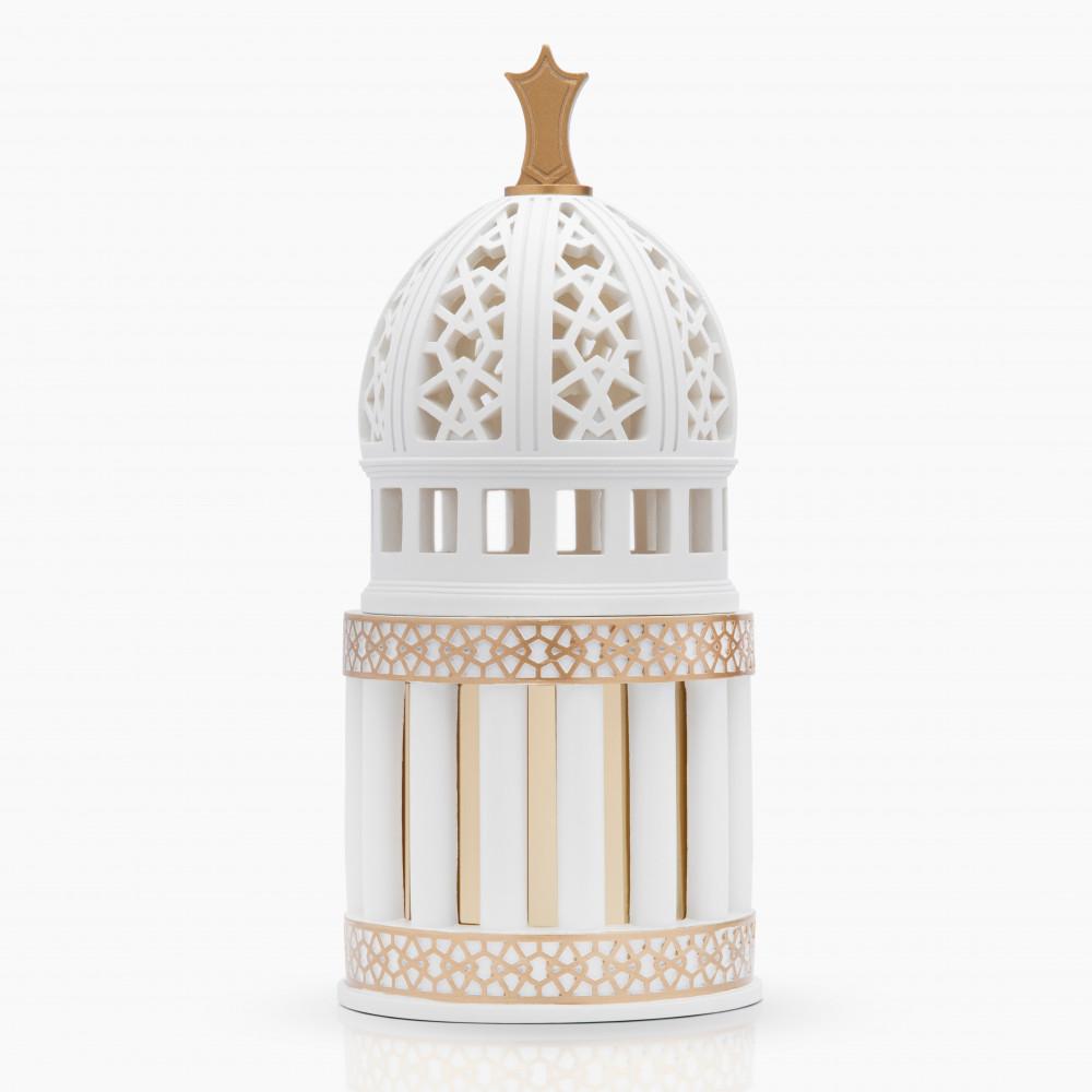 مبخرة المقام أبيض البيت الإماراتي للعود