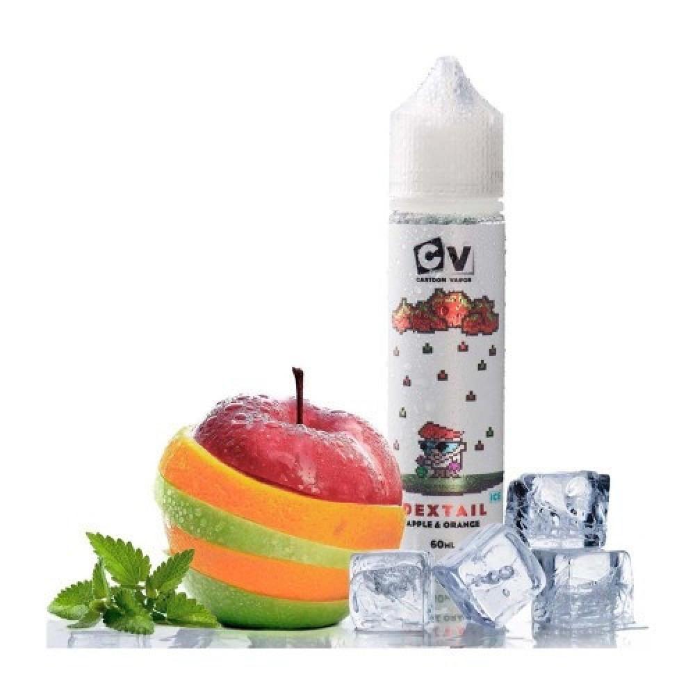 نكهة سي في تفاح برتقال بارد  - CV DEXTAIL APPLE ORANGE ICE - 60ML